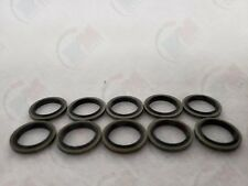 Set of 10 - MR41 Metal Rubber Oil Drain Plug Gasket/Washer for Various Vehicles
