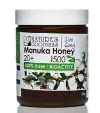 Active Manuka Honey 20+ MGO 500 | 250g (New Zealand) | NATURE'S GOODNESS