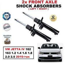 2x ant. AMMORTIZZATORI per VW JETTA IV 162 163 1.2 1.4 1.6 1.8 2.0 2.5 2010-on