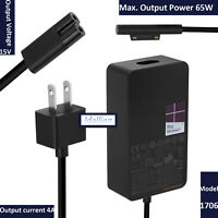 Genuine 65W AC Charger Power Adapter 4 Microsoft Surface Pro 3/4 1625 1706 1735