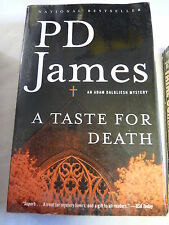 A Taste for Death by P. D. James (2005, Paperback)