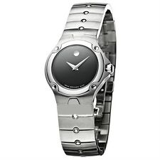MOVADO 0604459 SPORT EDITION STAINLESS STEEL  LADIES WATCH $1295.RETAIL