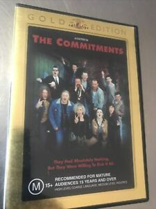 The Commitments Gold Edition DVD VGC