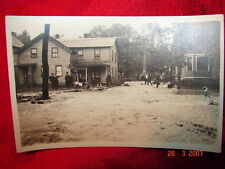 RPPC 1922 Flood Carbondale, Pa Taylor, Pa Wilkes-Barre, Pa Unmarked # 2