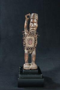 Bakongo Nail Fetish, D.R. Congo, African Tribal Art, African Sculpture