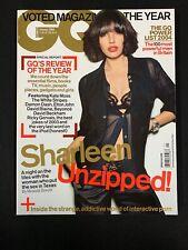 2004 Enero GQ GB Revista - Sharleen Spiteri! Kate Moss, Elton John, Beyoncé