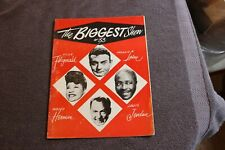 1953 Biggest Show of '53 jazz music SIGNED program (Laine, Ella Fitzgerald, etc)