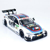 1:24 Scale BMW M4 DTM Racing Car Model Diecast Vehicle Collection White Gift