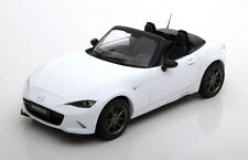 Triple 9 2015 Mazda MX-5 with removable Softtop White in 1/18 Scale New Release!