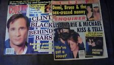 National Enquirer Magazine Michael Jackson Country Weekly Clint black 90's