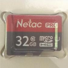 Netac P500 32GB Micro SDHC SDXC Class 10 TF Flash Memory Card Data Storage UHS-1
