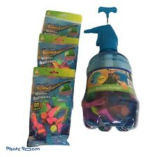 Discovery 3 In 1 Water Ballon Pumper Jug Wit Bonus Water Bsloon Packs. NEW