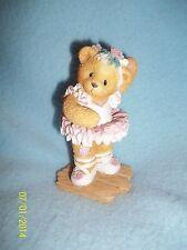 "Cherished Teddies MINDY ""Friendship Keeps Me On My Toes"" Ballerina Figurine 1996"