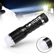 1200LM CREE 3 Modes Q5 LED Portable Flashlight Torch Lamp Pen-type AAA Black TY