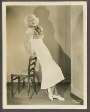 JEAN HARLOW Blond Bombshell Original MGM 1932 Pre Code Glamour Photo 2969
