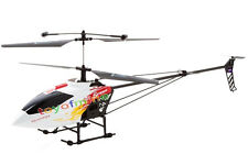 """Large 47"""" GT QS828A Metal 3CH+Gyro 3.5 Channel RC Remote Control Helicopter Red"""