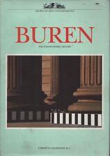 Buren. Photos-souvenirs 1965-1988. Auteurs divers. Allemandi. 1989. Y13