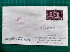 More details for 1937 coronation west coast air services fdc