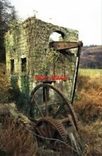 PHOTO  1997 GLYN PITS PONTYPOOL DISUSED COLLIERY WITH 1845 BEAM PUMPING ENGINE.