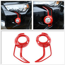 For Toyota 4Runner SR5 TRD Pro 2014-2020 Front Fog Light Lamp Decals Cover Trim