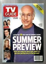 TV GUIDE-6/2010-CURB YOUR ENTHUSIASM-LARRY DAVID-2010 SUMMER PREVIEW-NO ML