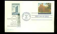 2001 FDC - Scott# UX361 COMBO - Yale University - No Cachet    UA