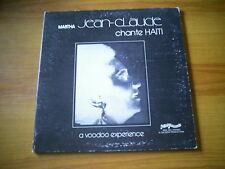 MARTHA JEAN CLAUDE Chante HAITI A Voodoo experience US LP MINI RECORDS 1975
