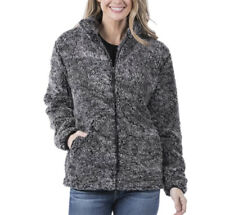 Katydid Full Zip Fur Sherpa Jacket