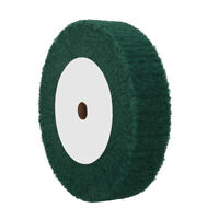 Nylon Fabric Flap Polishing Pads Wheel Disc for Grind Buffing Non-woven 180 Grit
