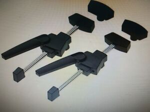 Festool CLAMP SET FOR MFT TABLE 488030 Cam-Action Levers, Rubber-Padded