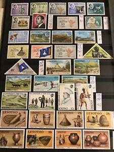 Collection Lesotho Basutoland 1940/1970 Entre N° 79 Et 400 neufs ** Cote ++++