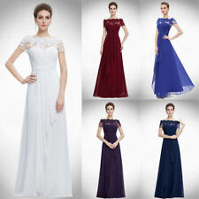 Ever-Pretty Chiffon Short Sleeve Maxi Dresses for Women