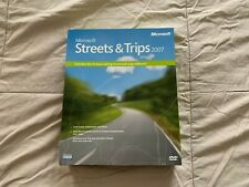 Microsoft Streets and Trips 2007 Brand New Sealed Retail Version