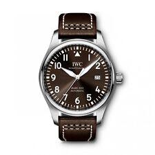 IWC Pilot's Mark XVIII Antoine de Saint Exupery Brown Steel Watch IW327003 2019