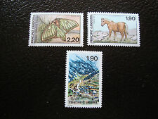 ANDORRE (francais) - timbre yvert et tellier n° 360 a 362 n** (A19)stamp andorra