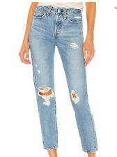 Levis Wedgie Straight Jeans High Rise Denim Size 28 x 26