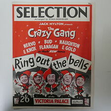 piano selection RING OUT THE BELLS crazy gang arr stan bowsher
