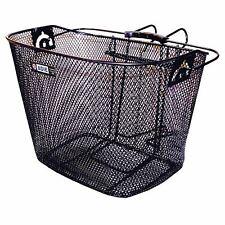 Adie Mesh Bicycle Basket in Black Includes Metal Bracket MTB and Road