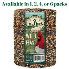 Mr. Bird Wild Bird Feast Birdseed Large Cylinder 4 lbs. (1, 2, 4, or 6 Pack)