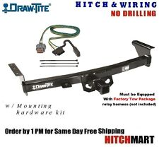 5K TRAILER HITCH & WIRING FOR 2005-2017 NISSAN FRONTIER w/FACTORY TOW PKG  75282