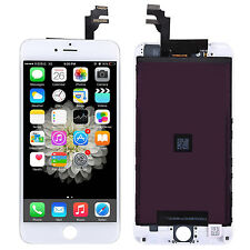 "For iPhone 6 Plus 5.5"" Touch Digitizer Glass LCD Screen Display Assembly A+White"
