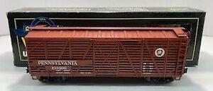 Weaver U4301D Pennsylvania 40' Stock Car #133466 [3Rail] NIB
