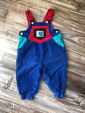 Vintage Baby Perfect Pals 80's 90's Overalls  GYMBABY Toddler 24 Month Colorful