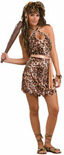 Cave Beauty Cave Woman Tarzan Jane Leopard Halloween Adult Costume Standard Size