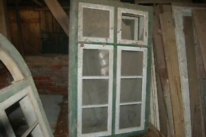 Gutshof Fenster Historisch Sprossen Holz Fachwerk Kastenfenster
