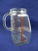 Vintage Evenflo Glass Measuring Pitcher 4 Cup 32 ounce Baby Formula with Flaw