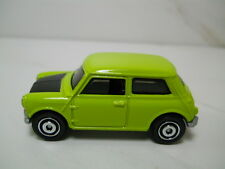 Matchbox MB765 Austin Mini Cooper Light Green Paint 1/64 Scale JC24