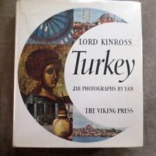 1959 TURKEY- Lord Kinross, Mantran, Yan; photographs, maps, plans- Turks Turkish