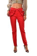 J Brand Womens Simone Rocha SR9033T142 Denim Jeans Red Size 23 $308 BCF811