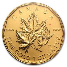 2007 Canada 1 oz Gold Maple Leaf .99999 BU (No Assay) - SKU #59993